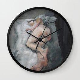 Anna Karenina is still hesitating Wall Clock