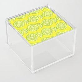 Lime Pattern Acrylic Box