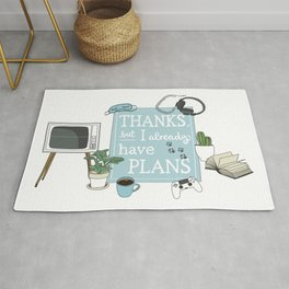 Introverts Paradise Rug