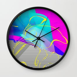 It's Imagination. Breaking Through. Rising Strong Wall Clock