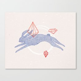 GHOST RABBIT Canvas Print