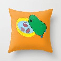 beans2 Throw Pillow