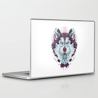 husky Laptop & iPad Skins featuring husky by yoaz