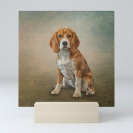 Drawing Dog Beagle Mini Art Print