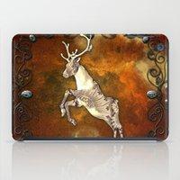 reindeer iPad Cases featuring Reindeer by nicky2342