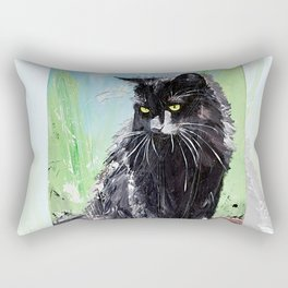 My little cat - kitty - animal - by LiliFlore Rectangular Pillow