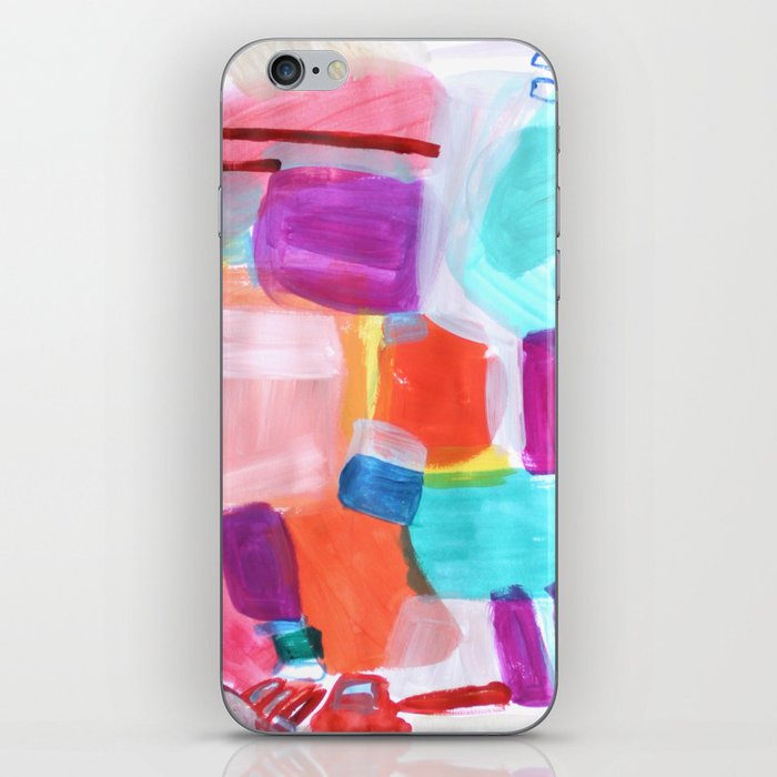 Summer Umbrella iPhone Skin