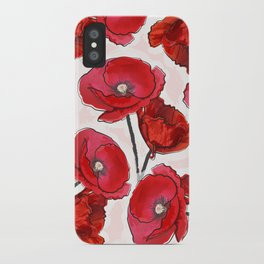 the poppy iPhone Case