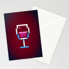 Pixel Wine Stationery Cards