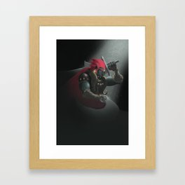 The King of Evil Framed Art Print