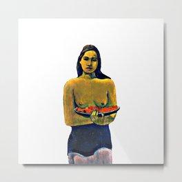 Gauguin Deux Tahitiennes Metal Print