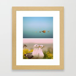 Sea Silence Framed Art Print