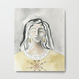 Mind and Heart Aligned Metal Print