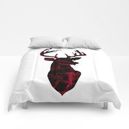 Deer head. Comforters