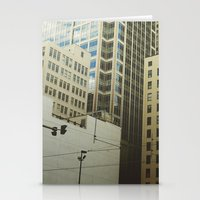 minneapolis Stationery Cards featuring Minneapolis Collage by Tristan Bowersox McQueen