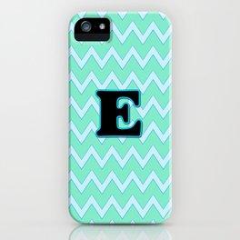 Letter E iPhone Case