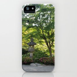 Lush Tea Garden iPhone Case