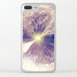 """""""Eye On The World"""" Clear iPhone Case"""