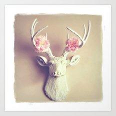 What a Deer Art Print