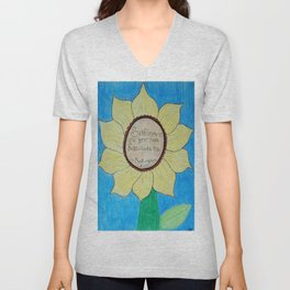 The gardens of Buckingham and Nicks Unisex V-Neck