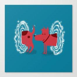 Atomic Dog Canvas Print