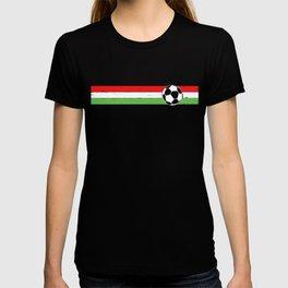 2018 Soccer Cup Italian Flag Futbol Italy Italia Stripe T-shirt