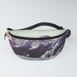 Lake and Mountains  - Nature Photography Fanny Pack