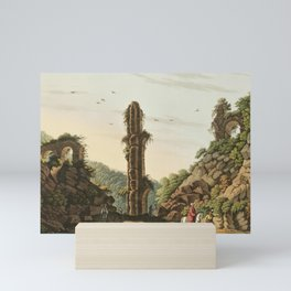 Ancient Aqueduct in Samos from Views in the Ottoman Dominions, in Europe, in Asia, and some of the M Mini Art Print