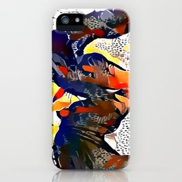 I Spotted Horses iPhone Case