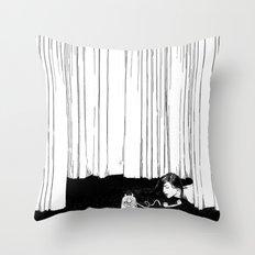 asc 536 - La mise en scène ( I'll be late tonight darling) Throw Pillow