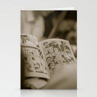 manga Stationery Cards featuring manga by gorkarcophoto