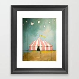 Circus in the Sand Framed Art Print