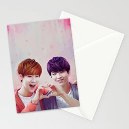 Woogyu Valentine Stationery Cards