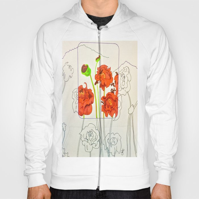 Perspective on Flowers Hoody