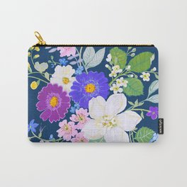 English Bouquet Carry-All Pouch