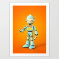 RoboBoy Art Print