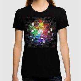 Spectral Geometric Abstract T-shirt