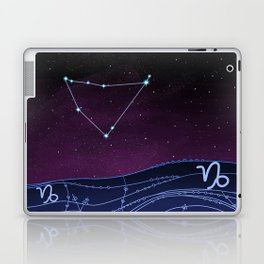 Capricorn Zodiac Constellation Design Laptop & iPad Skin