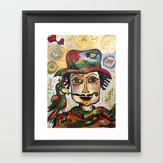 So Much Love to give.. Framed Art Print