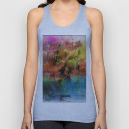 God Particle abstract Unisex Tank Top