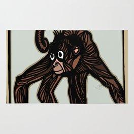 Spider Monkey Rug