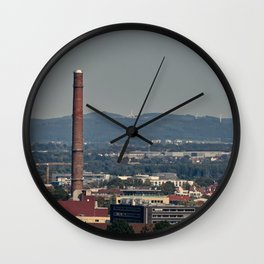 Powerplant Wall Clock