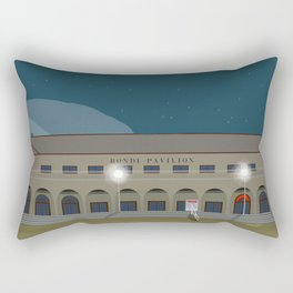 Bondi Beach Pavilion Night 2020 Rectangular Pillow