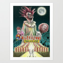 """Over the Big TOP"" Art Print"