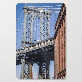 Manhattan Bridge Cutting Board