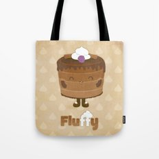 Fluffy Chocolate Mousse Cake Tote Bag