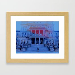 CAPITOL OF MI Framed Art Print