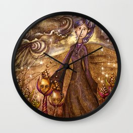 Yo soy la vida/l´m the life Wall Clock