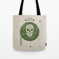 sagittarius Tote Bags featuring Sagittarius by Josh Ln