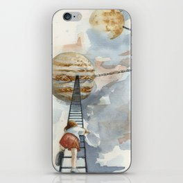 Little Girl from Earth 2 iPhone Skin